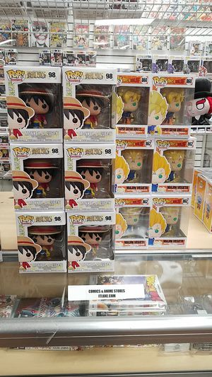 Monkey Luffy one piece funko pop animation for Sale in Moreno Valley, CA