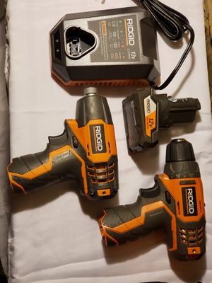 Ridged drill and impact combo for Sale in Bryn Mawr, PA