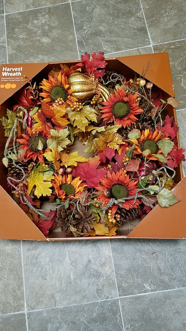 Beutifull harvest wreath