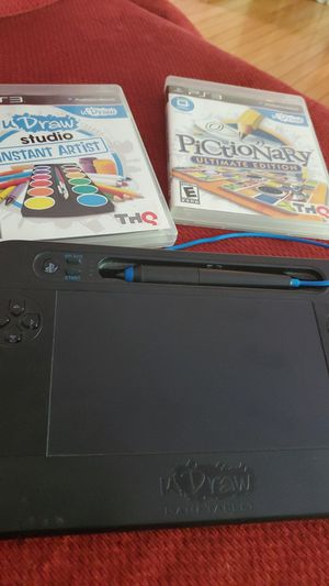 Pictonary ps3 tablet and games for Sale in Germantown, MD