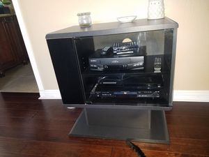 TV stand & Component Cabinet for Sale in Roseville, CA