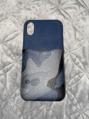 Blue army pocket coach iPhone 10x 10xr 10xs case for Sale in Volo, IL