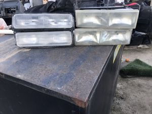 Headlights and marker lights Chevy 1988-1998 for Sale in Fresno, CA