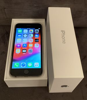 IPhone 6 factory unlocked inbox PRICE IS FIRM @140$ NO OFFERS for Sale in Las Vegas, NV