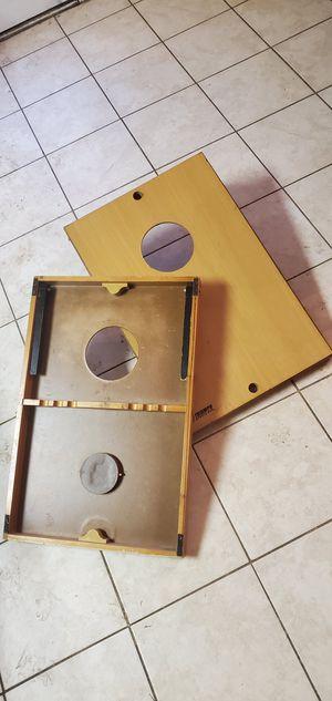 Travel Cornhole/beanbag game board for Sale in Plano, TX