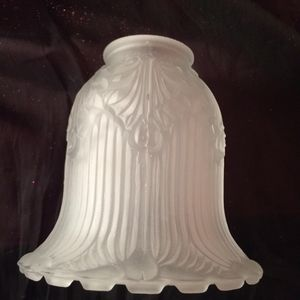 """Frosted glass lamp shade 5"""" for Sale in New York, NY"""