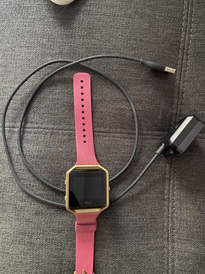 Fitbit blaze with charger for Sale in Fairfax, VA