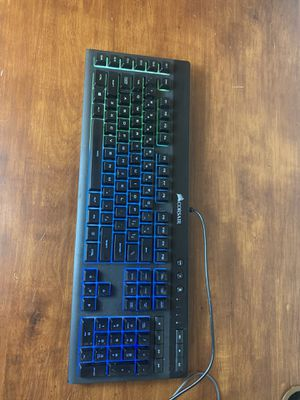 CORSAIR - K55 Wired Gaming Membrane Keyboard with RGB Backlighting for Sale in Everett, WA