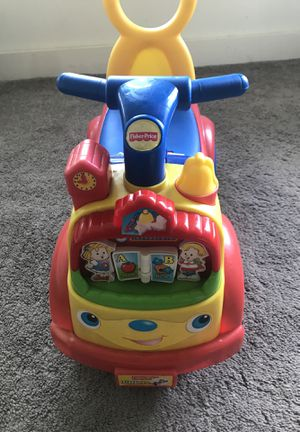 Fisher price time to learn ride on for Sale in Weehawken, NJ