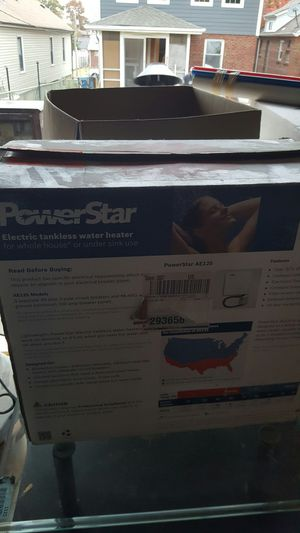 Power star tankless water heater. for Sale in Richmond Heights, MO
