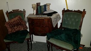Antique matching chairs(35in height for Sale in Sussex, NJ