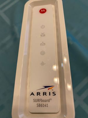 Arris SB6141 Cable Modem, compatible with Spectrum Internet for Sale in Allen, TX