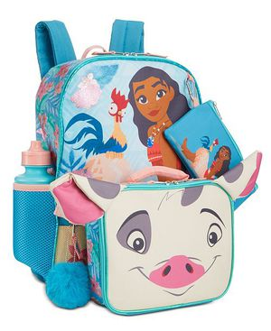 Girls Disney Moana 5pc Backpack Set (New w/ Tags) for Sale in Irving, TX