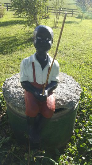 Vintage America black fishing boy for Sale in Appomattox, VA