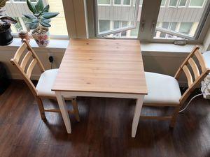 Ikea Lerhamn table & chairs for Sale in Seattle, WA