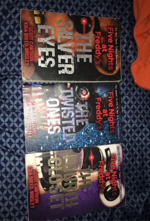 Five nights at Freddie's book series for Sale in Mercedes, TX