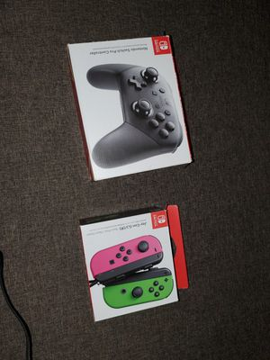 Nintendo switch controllers for Sale in ROXBURY CROSSING, MA