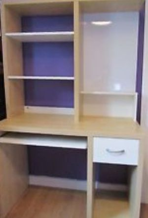 IKEA computer desk with storage shelves for Sale in Federal Way, WA