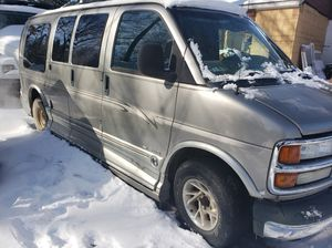 2002 Chevy express conversion van loaded for Sale in Southfield, MI
