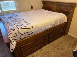 Full sized captains bed for Sale in Mesa, AZ