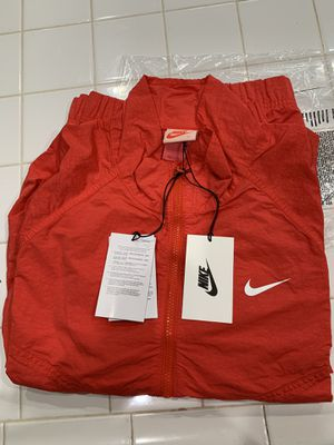 Nike x Stussy windrunner red M for Sale in Fontana, CA