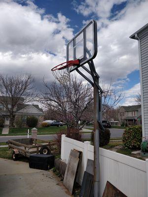 In-ground Basketball hoop for Sale in Draper, UT