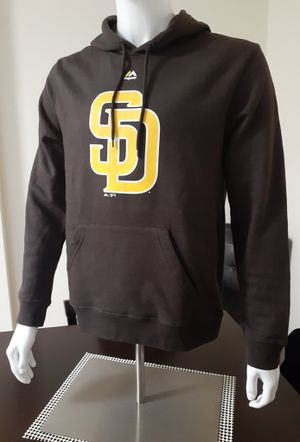 Men's San Diego Padres Majestic SD Hoodies (Brown) for Sale in Chula Vista, CA