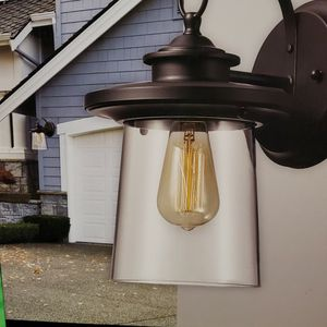 LIGHTING GLOBE EXTERIOR LIGHT NEW IN BOX for Sale in Beaumont, CA