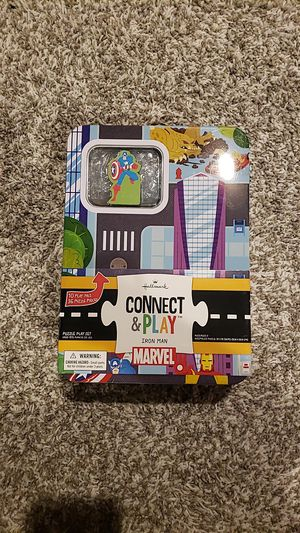 IRON MAN Puzzle Connect & Play HALLMARK NEW for Sale in Tampa, FL