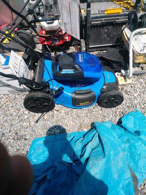 Kobalt 40 volt brushless Lithium powered lawn mower for Sale in Salt Lake City, UT