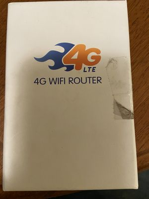Brand New in box 4G LTE WIFI Router for Sale in Clifton Heights, PA