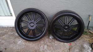 """24"""" BLACKED OUT RIMS for Sale in El Cerrito, CA"""