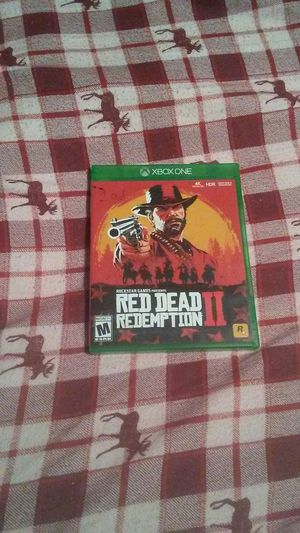 RED DEAD REDEMPTION 2 for XBOX One for Sale in Stockton, CA