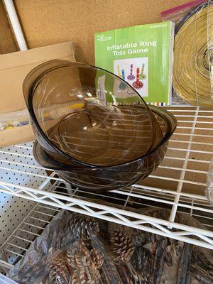 Pyrex casserole dishes for Sale in Stockton, CA