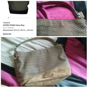 Authentic Coach Hobo Bag for Sale in Media, PA