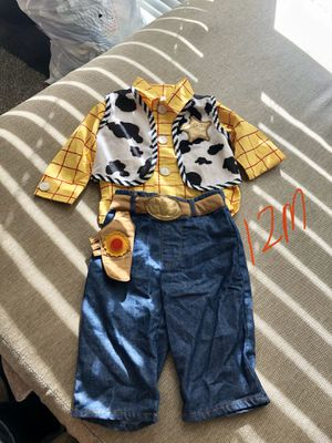 Woody costume for boys for Sale in Anaheim, CA
