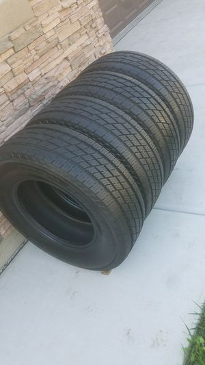 TIRES - TOYO LT 275 70 18 - $600 FIRM for Sale in Sacramento, CA