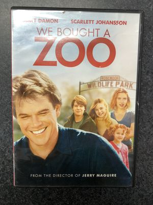 We Bought A Zoo DVD for Sale in Preston, CT