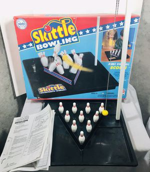 Vintage 1970's Marx Toys Skittle Bowling for Sale in Pawtucket, RI