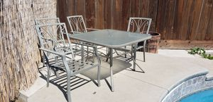 5 Piece Patio Set $60 for Sale in Fresno, CA