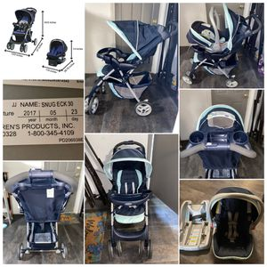Graco comfy cruiser click connect travel system for Sale in Port St. Lucie, FL