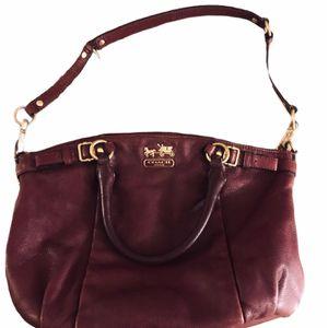 Leather COACH Handbag for Sale in Manteca, CA