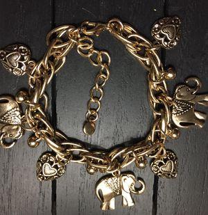 Adjustable Vintage Elephant Fashion Bracelet for Sale in Riverside, CA