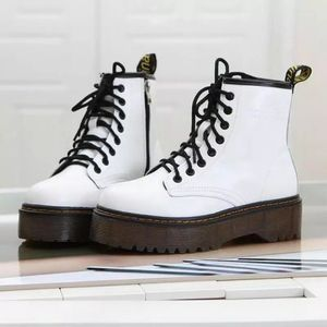 Size 8 Dr. Martens imitation black/white boots for Sale in Miami, FL