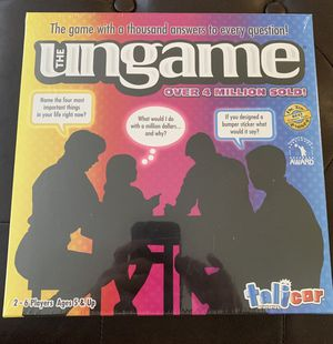 The UnGame Board Game: New for Sale in Fort Lauderdale, FL