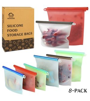 Reusable Silicone Food Storage Bags for Sale in Industry, CA