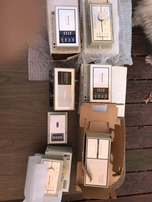 Ac and heat thermostats .New just out of box. Offers welcome for Sale in Newport News, VA