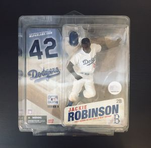 2006 Jackie Robinson Brooklyn Dodgers MLB Baseball Cooperstown Collection Series 3 McFarlane Action Figure - BRAND NEW!! Hard to Find!! for Sale in Citrus Heights, CA