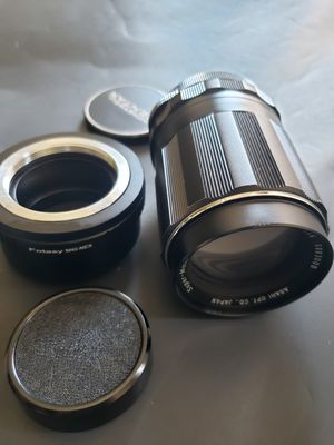 Super Takumar 135mm and Adapter for sony nex for Sale in San Diego, CA