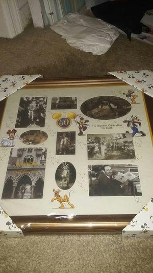Disney 50th Anniversary Collage Picture Frame for Sale in Orlando, FL